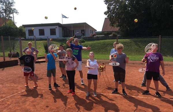 Viborg-Sorgenfris tennishold Team FRED.